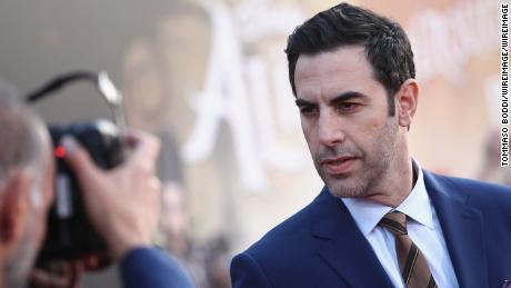 Sacha Baron Cohen calls social media 'the greatest propaganda machine in history'