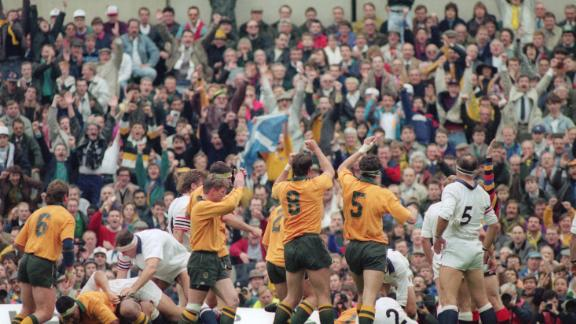 Australia first tasted World Cup victory in 1991 after narrowly defeating England 12-6 in the final.