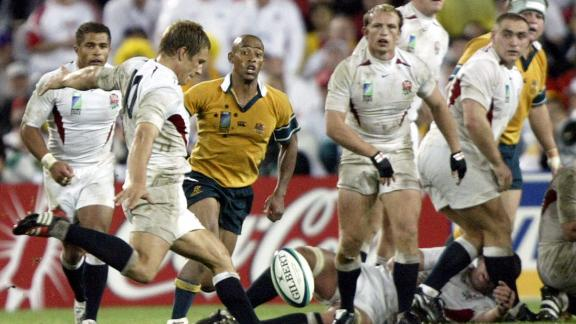 England became the first -- and to this day the only -- northern hemisphere side to win the World Cup in 2003 by defeating Australia 20-17 in Sydney. Fly-half Jonny Wilkinson struck the winning drop goal in extra-time.