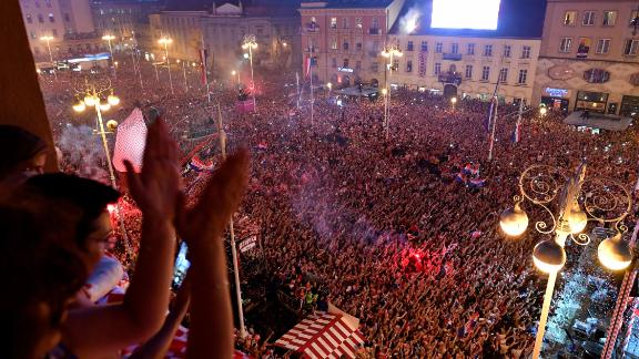 Someone unacquainted with the events in Russia would have been forgiven for thinking Croatia had won the tournament.
