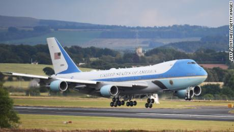 Special Air Mission 41: Bush's last flights on Air Force One