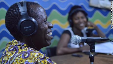 One of the radio campaigns in Burkina Faso.