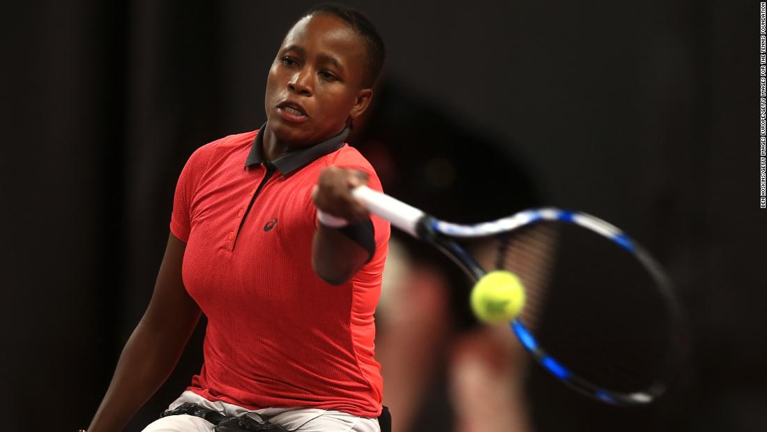 South African wheelchair tennis star has her eyes on the top spot