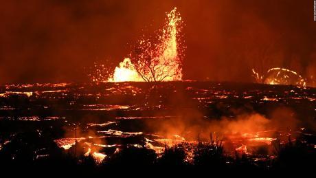 Kilauea Volcan Destruccion Hawai Dos Meses Recuentoa Lava Digital Pkg_ Jpg