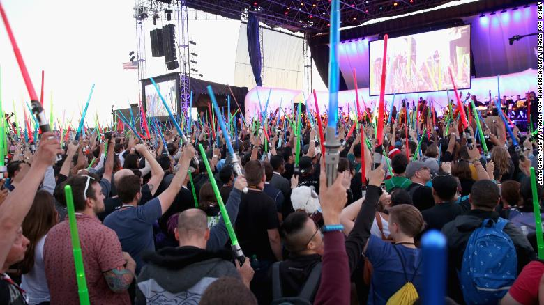 'Star Wars' fans at Comic-Con in 2015