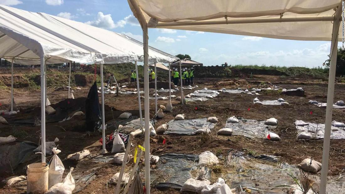 Nearly 100 bodies found at a Texas construction site were probably black people forced into labor -- after slavery ended