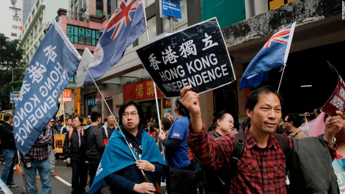 Hong Kong pro-independence party threatened with legal ban