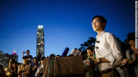 Andy Chan, leader of the pro-independence Hong Kong National Party. He was informed this week that his party could be banned under a colonial-era law.