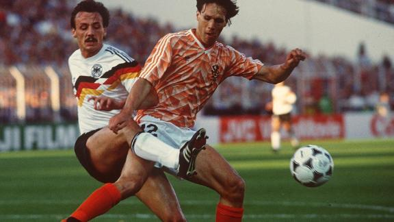 Dutch striker Marco van Basten was hampered by an ankle injury in his late 20s and, after multiple surgeries, was forced to retire from football age 30.