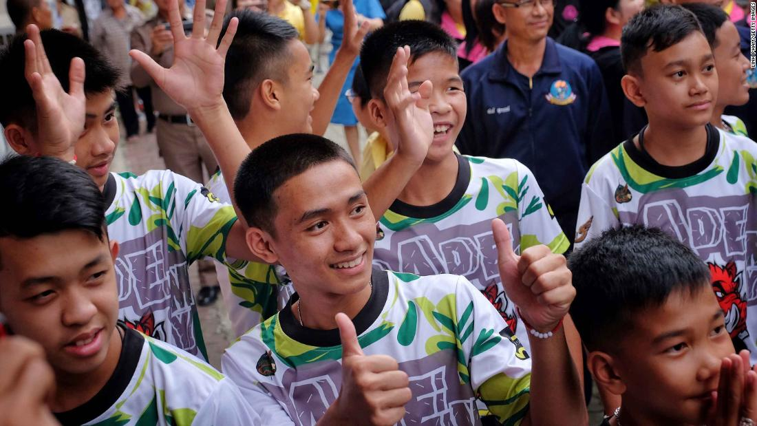 Thai boys recall battle to survive cave ordeal -- and moment they were found