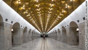 Underground design: A journey through the Moscow Metro