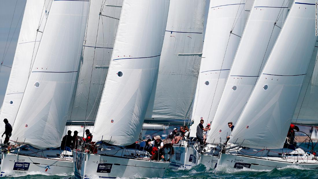 "The Solent can prove challenging sailing for competitors -- with its sheltered waters and unusual tidal conditions. The majority of classes sail varied ""round-the-cans"" courses designed to suit the style of boat and the wind and tide conditions each day."