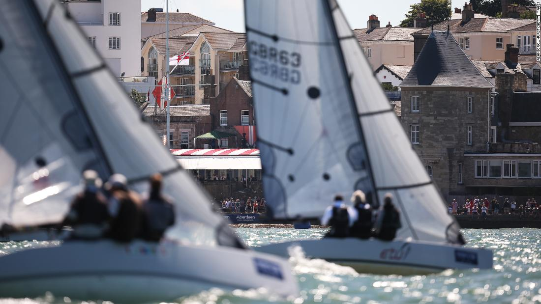 Organizers say Cowes Week is a 'complete mixture of classic and ulta-modern designs that give the regatta its uniqueness.'