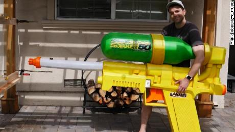 This 'Super Soaker' can slice through a watermelon at 272mph