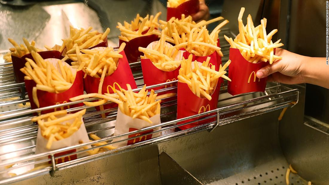 mcdonald s is giving away free fries for the rest of the year just