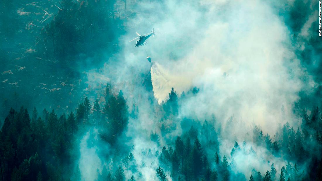 Evacuations ordered as fires rage in Sweden