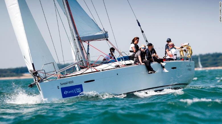 Lucy Hodges has been nominated for the Lendy Ladies Day trophy at Lendy Cowes Week, which celebrates the best talent in women's sailing.