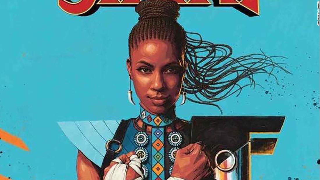 Nigerian author writing comic series on Black Panther's Shuri