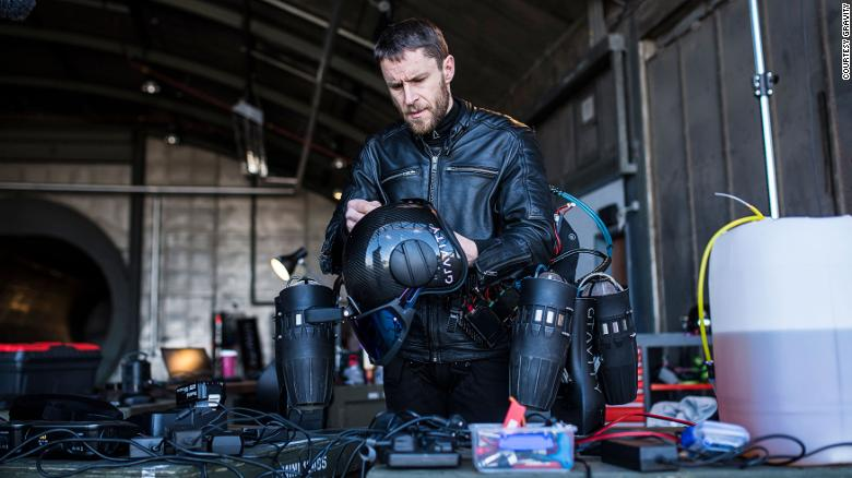 Real-life Iron Man Richard Browning and his flying suit | CNN Travel
