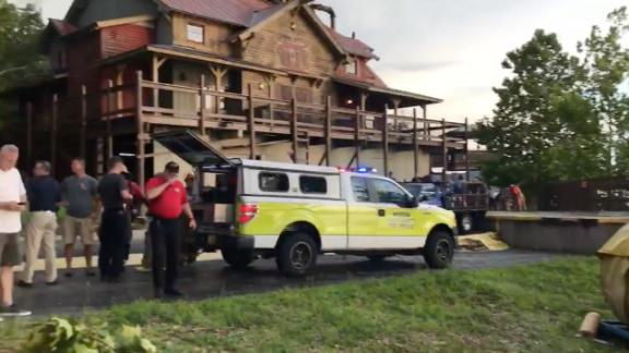Thee Southern Stone County Fire Protection District posted this video of the article scene at Table Rock Lake in Branson, Missouri.