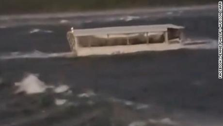 Video shows the last moments before the duck boat sank