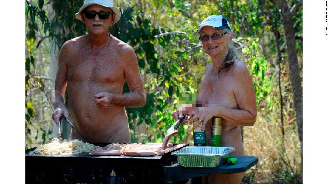 Organizers and passionate nudists Bruce and Julie Jensen offered golfers a day of relaxation, freedom -- and a barbeque.