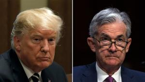 Trump asking advisers if he can legally fire Fed chief