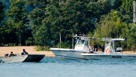Task Force patrolling Friday near the Duck boat Table Rock Lake