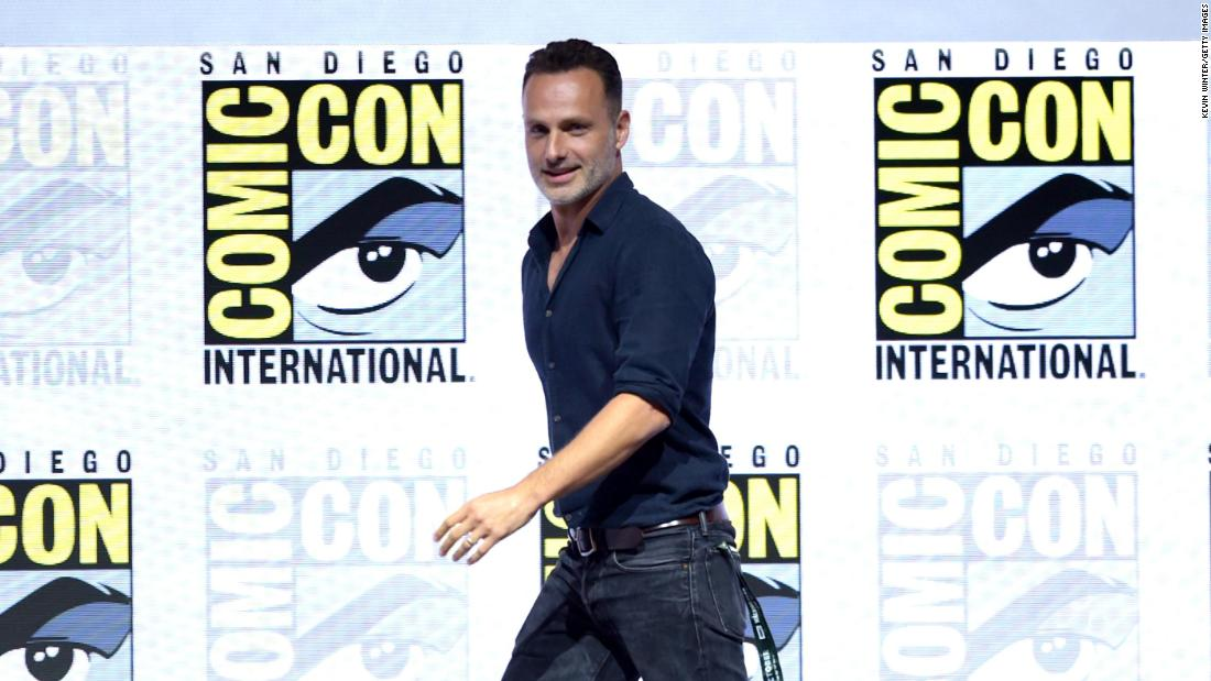 Andrew Lincoln breaks hearts as he confirms 'Walking Dead' exit at Comic-Con