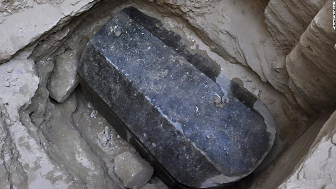 Mysterious sarcophagus opened in Alexandria