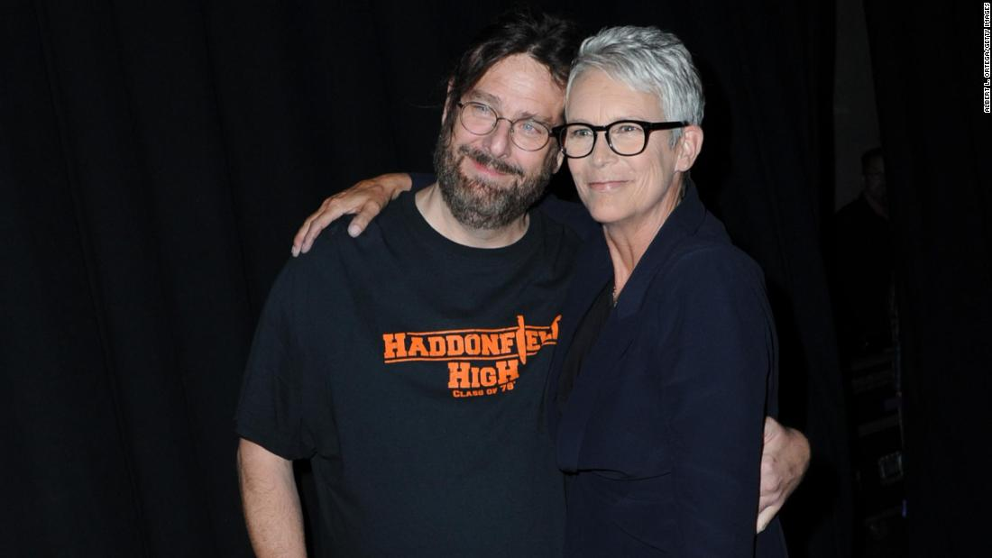 Image result for jamie lee curtis comic con fan