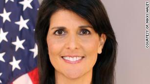 Unlike Trump, Haley says the US doesn't trust Putin