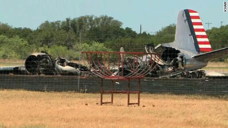 Passengers survive WWII-era plane crash
