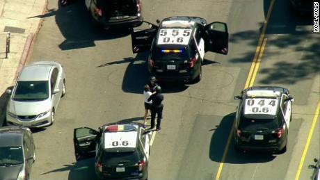 Police raved Saturday against Trader Joe after the armed suspect barricaded himself.