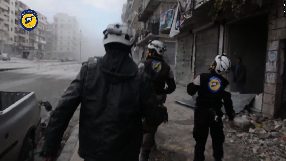 Israel helps evacuate Syria's White Helmets to Jordan