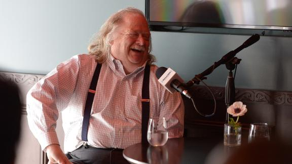 Los Angeles Times food critic Jonathan Gold appears on the SiriusXM show  in May.