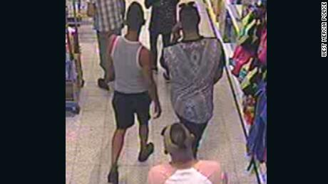 CCTV images of three men police want to speak to about the incident.