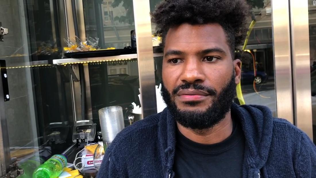 Police reportedly called on black man opening his own business