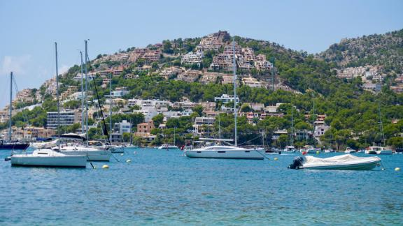 The Mediterranean boasts some spectacular views. This shabby chic port is known as the Riviera of the Balearics.