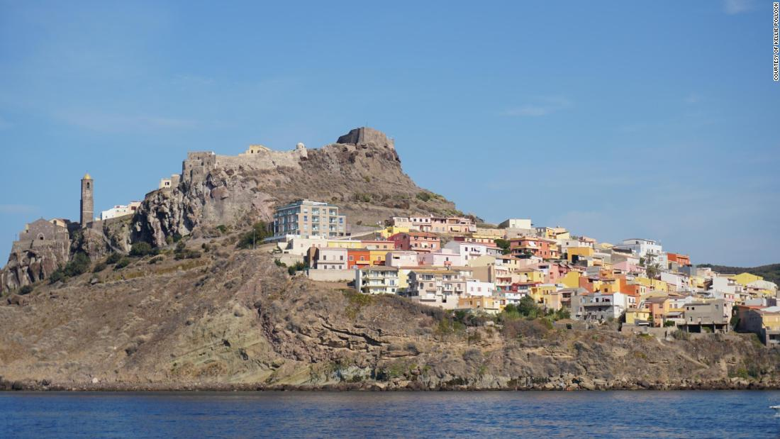 Castelsardo, a medieval city with stunning views to sail in to.