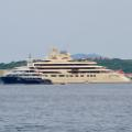 Sailing the med 07 Costa Smeralda super yacht