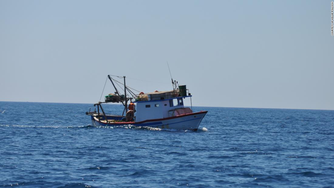 The Mediterranean is not just for cruisers. It is a working environment for hundreds of fishing vessels.