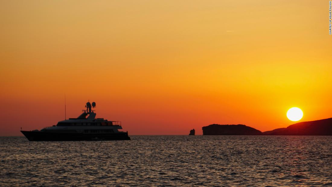 As the night creeps up, the west coast of Ibiza boasts some of the most beautiful sunsets in the Mediterranean.