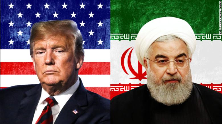 Image result for trump rouhani