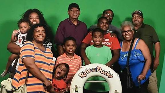 Tia Coleman and 10 of her relatives got on a duck boat to take a tour of Table Rock Lake during their family vacation.