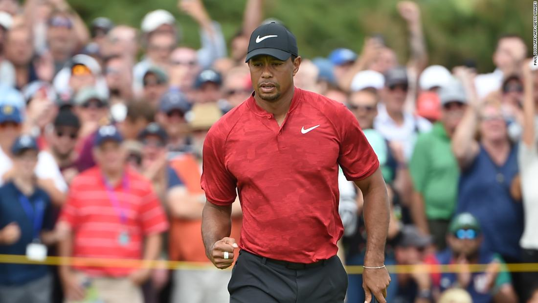 For 38 minutes, Tiger Woods made people believe his comeback was complete