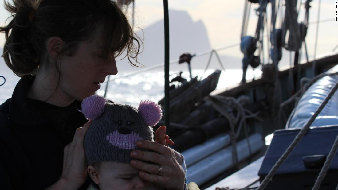 Although The Lista Light was sold to another family, the family plan to go sailing again once their children -- with a second child now added to the crew -- are around eight to 10 years old.