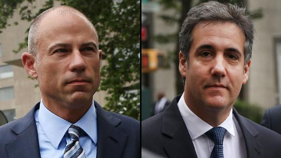 Michael Avenatti and Michael Cohen