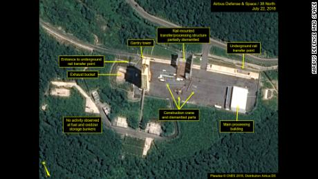 Trump says new images show North Korea has begun dismantling 'key missile site'