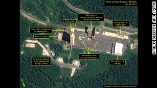 Trump says new images show North Korea has begun dismantling 'key missile site'